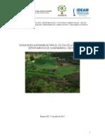 Condiciones agronomicas del cultivo de papa