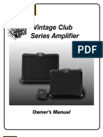 Club 50 Manual