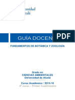 BOTANICA Y ZOOLOGIA