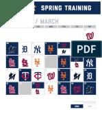 Astros 2021 spring training schedule
