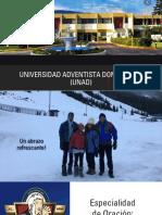 Especialidad oracion Aneury Vargas Camporee UD 2020