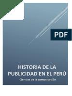 HISTORIA DE LA PUBLICIDAD EN EL PERU FOLDER