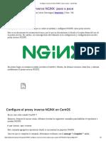 Configure el proxy inverso NGINX_ paso a paso - LinuxParty