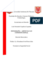 INFOGRAFIA - ARTICULO 123 CONSTITUCIONAL
