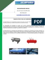 Reservatorio para Ar Comprimido - Arcomprimido Brasil - 11 2307-5239.pdf