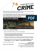 The Power Behind Chronicles of Crime