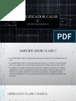 19 AMPLIFICADORES DE POTENCIA CLASE C.pptx