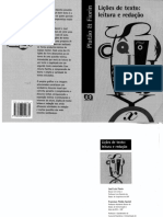 Patão & Fiorin - Lições de Texto Leitura e Redação - Aberto Preto e Branco