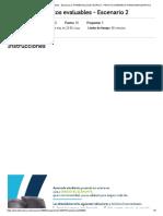 Actividad de puntos evaluables - Escenario 2 GERENCIA FINANCIERA