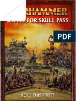 Warhammer Fantasy Battles - ENG - Battle for Skull Pass - 7th