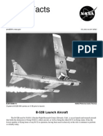 NASA Facts B-52B Launch Aircraft