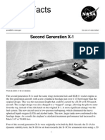 NASA Facts Second Generation X-1