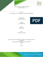 Tarea 1- Introducción a los Sistemas de Información Geográfica