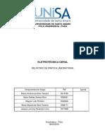 Relatório Eletrotécnica Geral