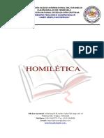 HOMILÉTICA(1)