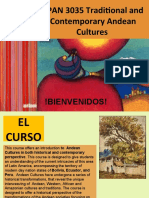 PPT First Day of Calsses Andean