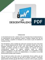La Descentralizacion