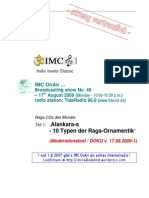 Moderation Script (08/2009)