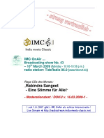 Moderation Script (03/2009)