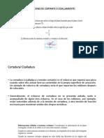 5.- TENSIONES DE CORTANTE O CIZALLAMIENTO