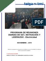 COMPENDIO DE CHARLAS DE SST - Noviembre 19