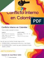 Conflicto Interno en Colombia