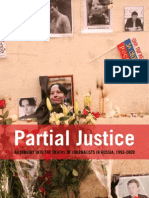 Partial Justice - An Inquiry Into the Deaths of Journalists in Russia, 1993 - 2009