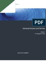 Module 4, Executive Summary, March 2009-ICT Regulation Toolkit