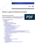 Module+6.+Legal+and+Institutional+Framework -ICT Regulation Toolkit
