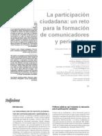 participación ciudadana un reto para comunicadores