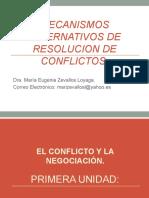 MECANISMOS ALTERNATIVOS DE RESOLUCION DE CONFLICTOS1