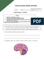 Teste de Ciências - GPI