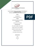 Actividad 6. ESTADO DE FLUJO DE EFECTIVO ADM FINANCIERA 2