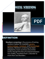 16. NEONATAL SCREENING