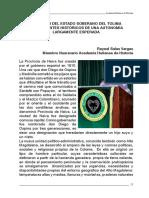 Estado del Tolima