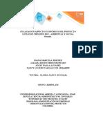 Plantilla Excel Evaluación aspecto económico del proyecto _Listas Chequeos RSE Ambiental y Social  (2)