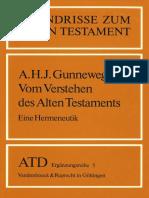 (Grundrisse zum Alten Testament 5) Gunneweg, Antonius H.J. - Vom Verstehen des Alten Testaments. Eine Hermeneutik-Vandenhoeck & Ruprecht (1988).pdf