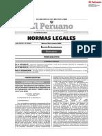 Normas legales extraordinarias 16 setiembre 2020