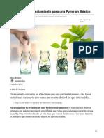 5 fuentes de financiamiento para una Pyme en México