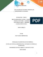 Unidad 2 - Fase 3 - Planificar y decidir – Propuesta de emprendimiento solidario