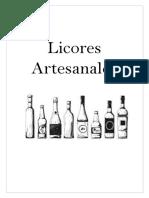 Licores Artesanales
