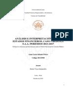 tesis sobre creditex 2017