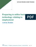 Datacom PEP Module 3  Activity Booklet - Workplace communication BLMartin.pdf