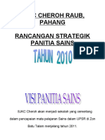 rancangan strategik panitia sains tahun 2010