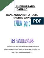 rancangan strategik panitia sains tahun 2010