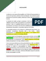 CASO LA DULCERÍA