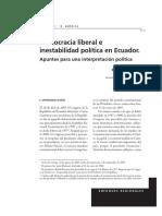Andrade 2006- Democracia liberal en EC.pdf