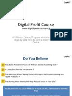 digital profit course