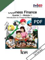 Senior 12 Business Finance_Q1_M1 for printing