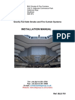 Fire Curtain Installation Manual